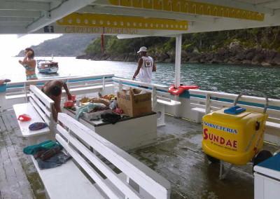 barco passeio ilhabela