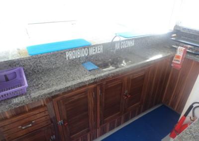 cozinha barco
