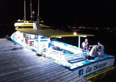 iluminação barco capitaõ ximango