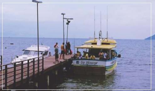 Equipe Mazakina e amigos se reúnem para pescaria em São Sebastião